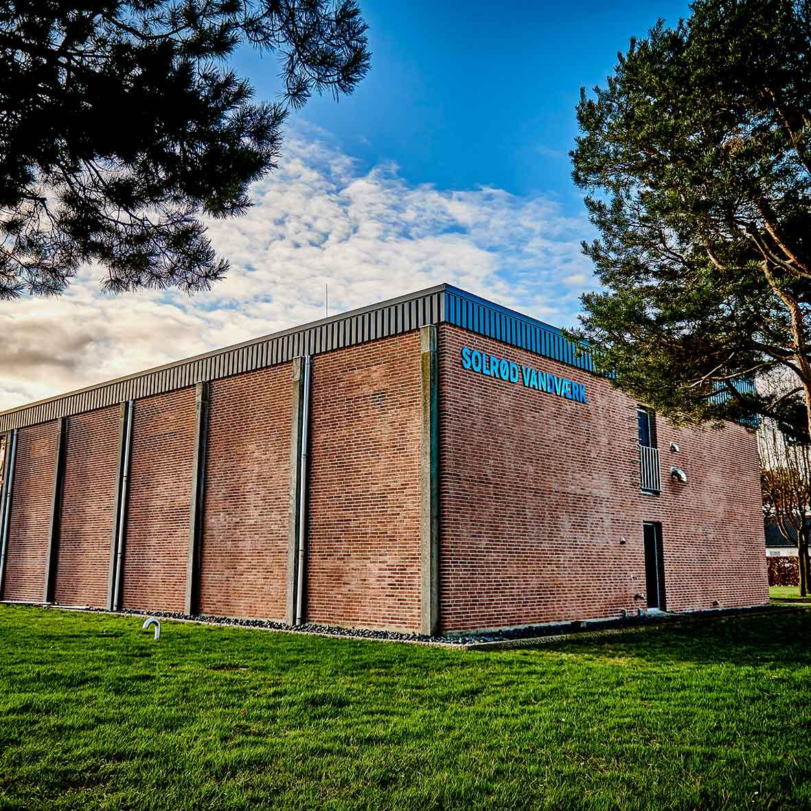 Solrød Vandværk - facadefoto