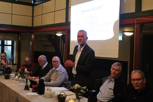 Forsamling taler og præsentation
